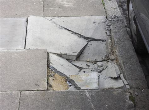 How To Fix From Sinking by Settling Sinking Outdoor Concrete Repair In