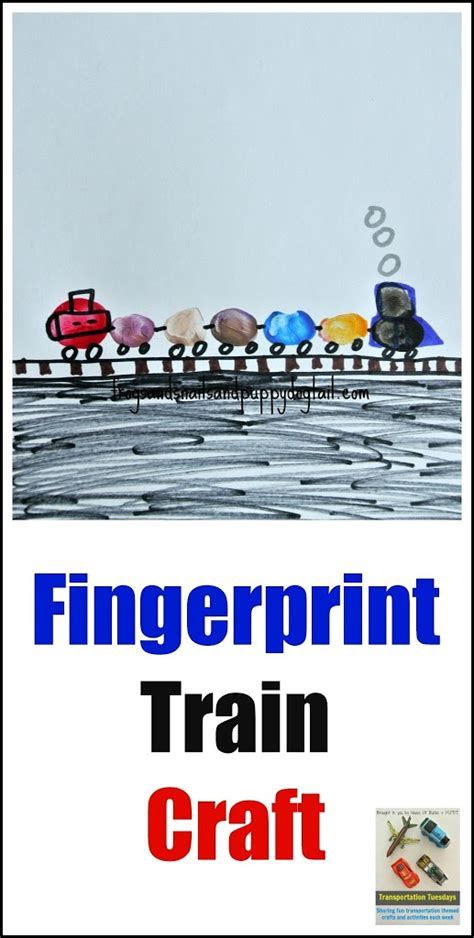 Railroad Point Right Paper Craft transportation tuesday craft fspdt