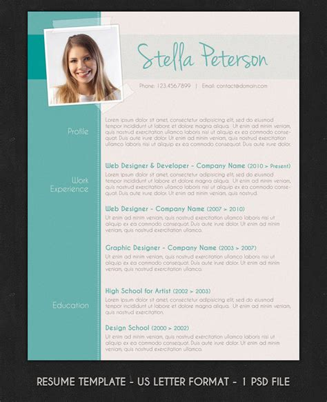 improve your chances of getting noticed employers with modern resumes feel desain