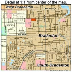 bradenton florida map 1207950