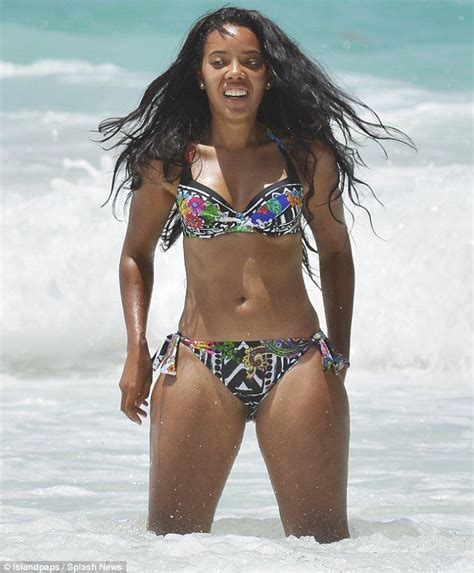 angela simmons bathing suit shoot search angela