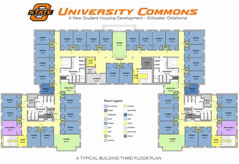 university floor plans university commons housing residential life