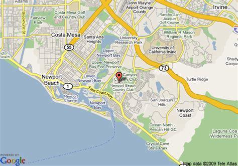 map newport california the island hotel newport newport deals see