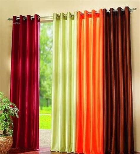 colorful curtains colorful curtain for living room available in maroon green