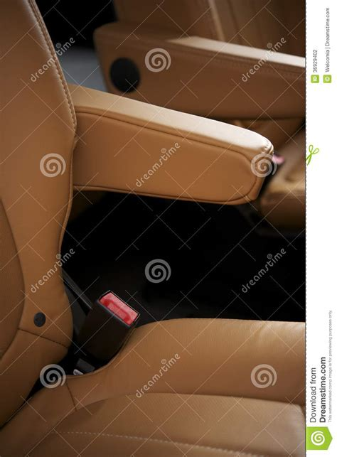 Upholstery Leather Car Seats by Leather Car Seats Stock Photography Image 36929402