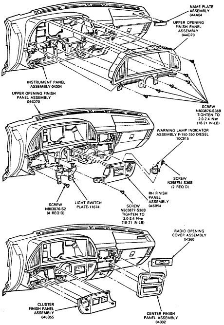 service manuals schematics 2011 ford taurus instrument cluster service manual how to remove instrument 1989 ford taurus how to replace dashboard lights