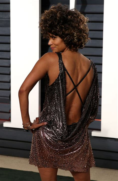 Halle Berry by Halle Berry At Vanity Fair Oscar 2017 In Los Angeles