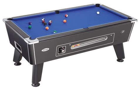omega coin operated 6ft or 7ft pub pool table pool