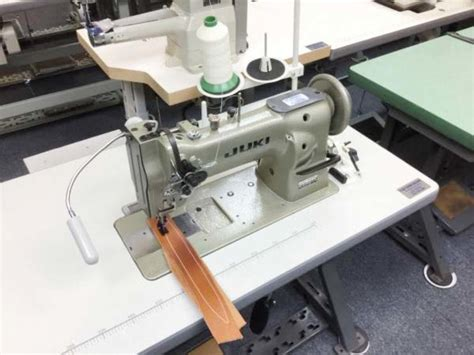Used Upholstery Sewing Machine by Juki Lu 563 Walking Foot Upholstery Sewing Machine