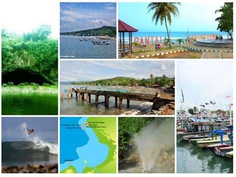 membuat kolase tempat wisata 7 tempat wisata menarik di sekitar pelabuhan ratu yang