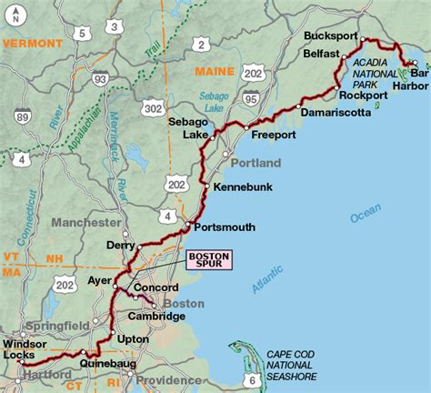 map us atlantic coast atlantic coast adventure cycling route network