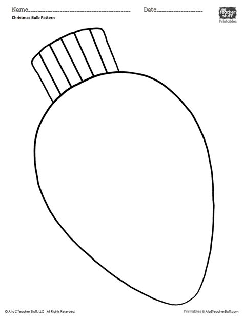 christmas bulb coloring pattern  coloring sheet neo