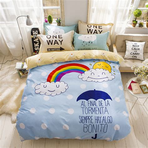 rainbow bedding for rainbow bedding for inspire the mood of your room