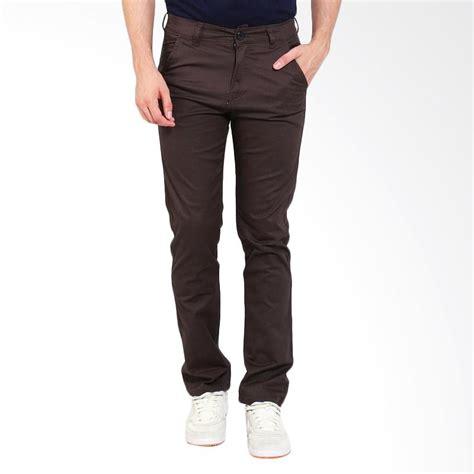 Celana Basic jual allends basic chinos celana pria coffe