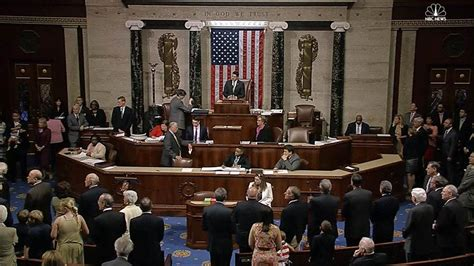 Who Is The House Of Representatives Fight In House Of Representatives After Moment Of Silence