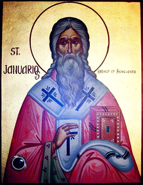 who is st st januarius