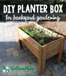 Raised Bed Tomato Trellis Diy Planter Box Tutorial For Patio Or Balcony Wellness Mama