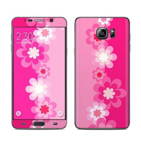 Shinning Flower Bumper For Samsung Galaxy Note 5 samsung galaxy note 5 skin retro pink flowers decalgirl