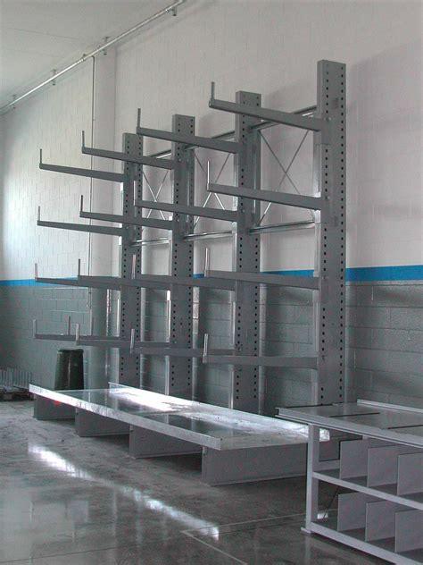 scaffali cantilever scaffalature cantilever per prodotti pesanti o t