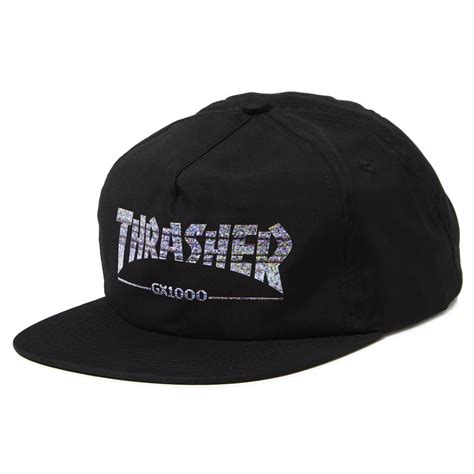 Topi Snapback Thrasher Jaspirow Shopping thrasher x gx1000 snapback hat black
