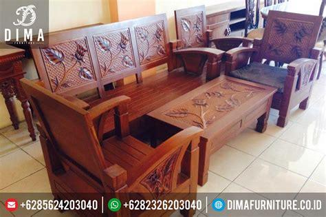 Kursi Tamu Jati Minimalis Terbaru sofa tamu jati terbaru kursi jati minimalis sofa tamu jepara st 0368 gambar 2 sofa tamu jepara