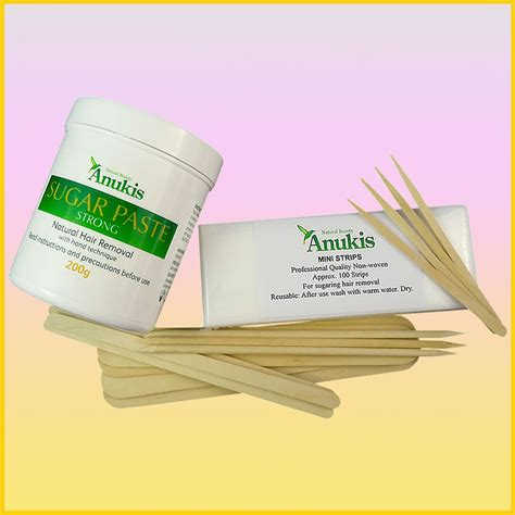 anukis sugar wax kit sugaring at home