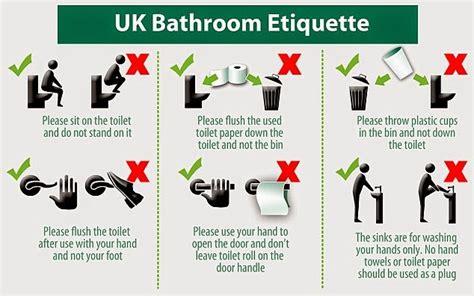 bathroom edicate etiquipedia toilet etiquette uk to saudi arabia