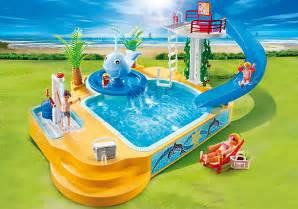 playmobil schwimmbad playmobil 5433 famille avec piscine et plongeoir achat