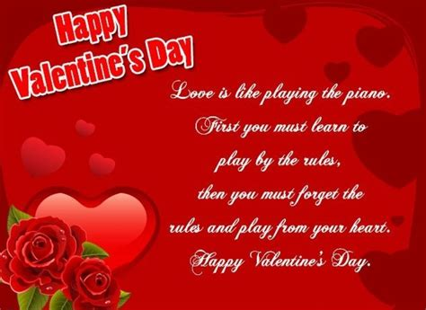 valentines day messages for greeting card best 25 messages for