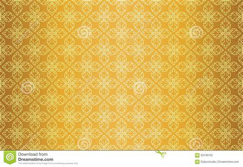thai pattern background free gold thai vintage line art seamless pattern background