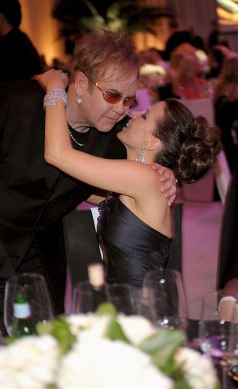 Elton Aids Foundation Oscar Kate Beckinsale by Kate Beckinsale And Elton At The 17th Annual Elton
