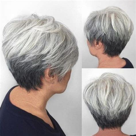 back views of gray hair styles 25 best ideas about short gray hairstyles on pinterest