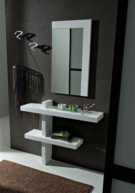 specchio ingresso moderni entrata lena mobile moderno con specchio per corridoio