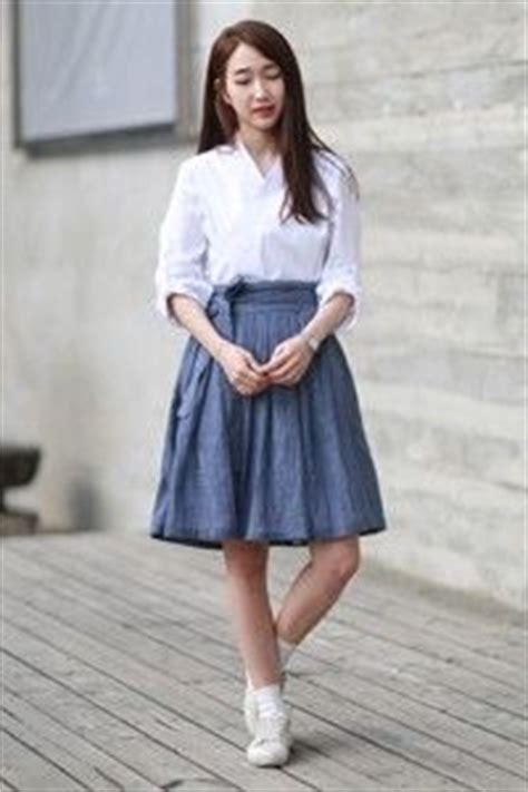 Midi Hanbok Skirt 11 best images about 생활한복 on mid autumn