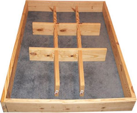 Waterbed Pedestal Plans pedestal riser build a waterbed frame free plans and directions of how to build a waterbed frame