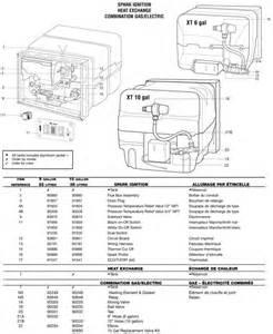 laurelhurst distributors parts breakdown atwood water heaters