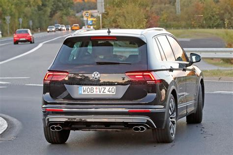best volkswagen the best all rounder around vw tiguan r spotted by car