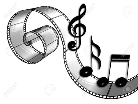 free movie music film music clipart clipartxtras