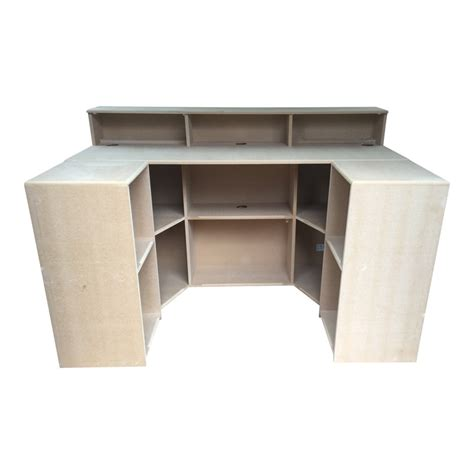 reception desk with counter reception desk with counter sides bespoke mdf