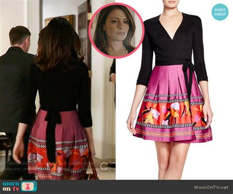 wendy davis actress designated survivor wornontv emily s black wrap sweater with pink printed