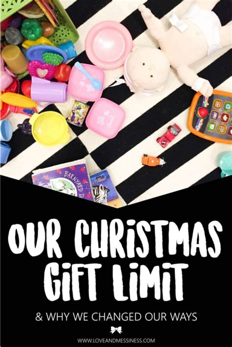 our christmas gift limit why we changed our ways teetertot