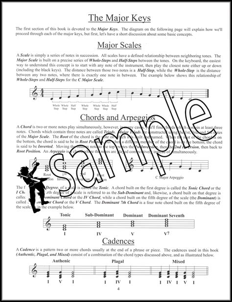 The Complete Book Of Scales Chord Arpeggios Cadences basic scales chords arpeggios and cadences complete for
