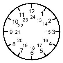 printable 24 hour clock printable 24 hour clock face video search engine at