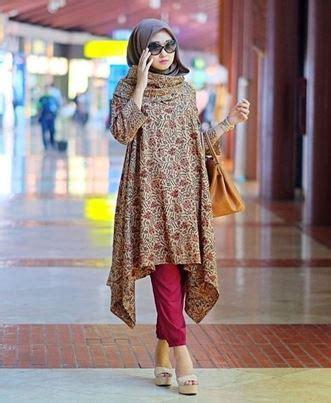 Tunik Kombi Batik 33 model tunik batik terbaru 2018 modern cantik