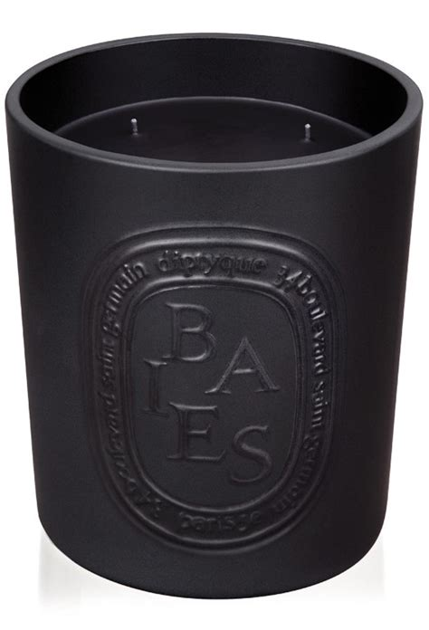 scented indoor l baies candle indoor outdoor edition by diptyque