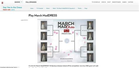 Say Yes To The Dress Sweepstakes - tlc com marchmaddress tlc march mad dress giveaway 2016 sweepstakes lovers