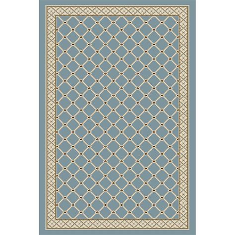 Natco Rugs by Natco Stratford Bedford Light Blue 5 Ft X 7 Ft 7 In