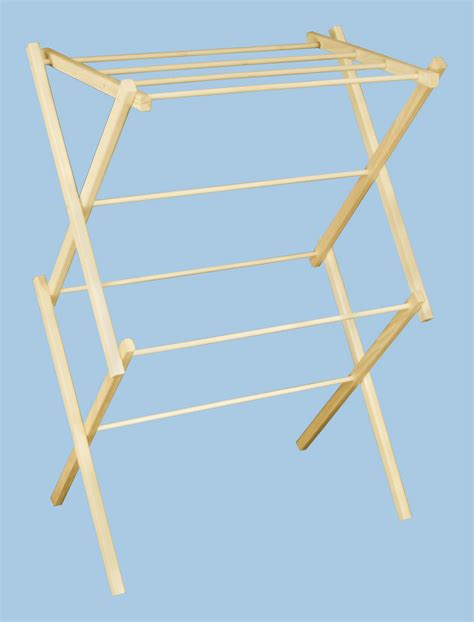 Clothes Drying Rack by Earth Friendly Wooden Clothes Drying Racks