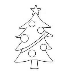 Christmas tree coloring pages printable christmas tree