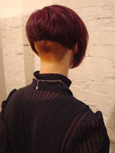 inverted bob short cut at the nape pictures all sizes red flickr photo sharing bobbing along